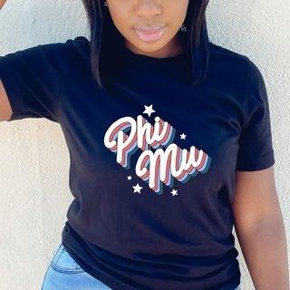 Phi Mu Flashback Tee