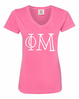 Phi Mu Comfort Colors V-Neck T-Shirt