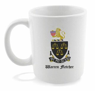 Phi Mu Delta Crest - Shield Coffee Mug