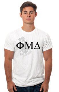 Phi Mu Delta Crest - Shield Tee