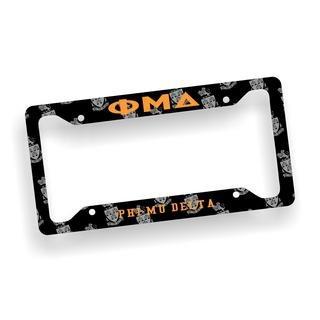 Phi Mu Delta Custom License Plate Frame