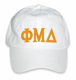 Phi Mu Delta Letter Hat