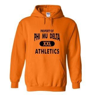 Phi Mu Delta Property Of Athletics Hoodie