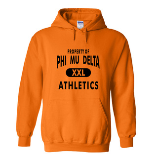 Phi Mu Delta Property Of Athletics Hoodie