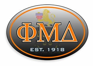 Phi Mu Delta Stickers & Decals
