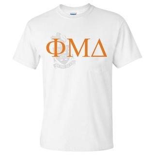 Phi Mu Delta World Famous Crest - Shield Tee- $14.95!