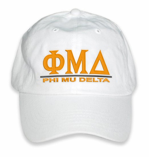 Phi Mu Delta World Famous Line Hat