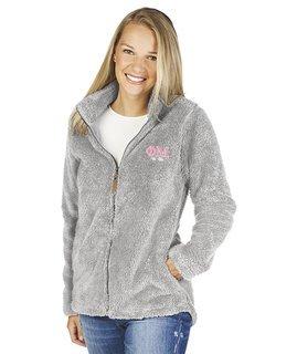 Phi Mu Newport Full Zip Fleece Jacket