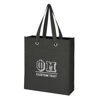 Phi Mu Grommet Tote Bag