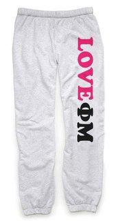 Phi Mu Love Sweatpants