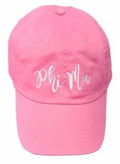 Phi Mu Magnolia Skies Ball Cap
