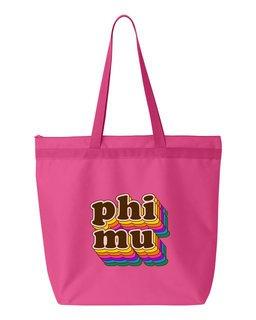 Phi Mu Maya Tote Bag