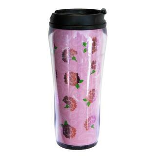 Phi Mu Metallic Travel Mug