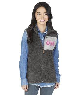 Phi Mu Newport Fleece Vest