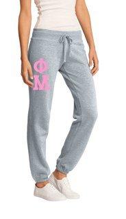 Phi Mu Junior Core Fleece Pant