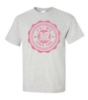Phi Mu Old Style Classic T-Shirt