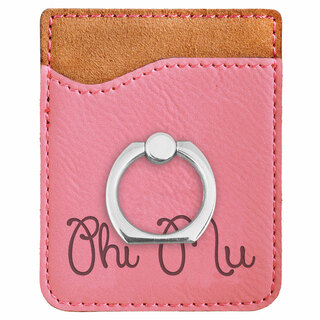 Phi Mu Phone Wallet with Ring