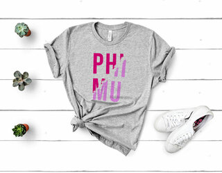 Phi Mu Ripped Favorite T-Shirt