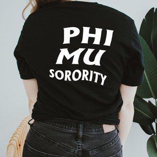 Phi Mu Social Tee