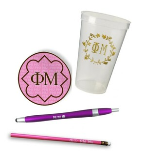 Phi Mu Sorority Mascot Set $8.99