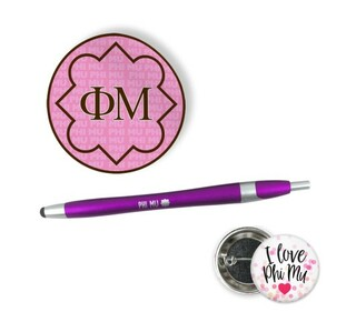 Phi Mu Sorority Pack $5.99