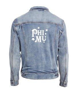 Phi Mu Star Struck Denim Jacket