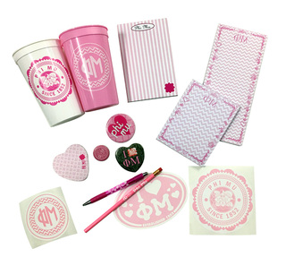 Phi Mu Super Sister Set - $70 Value!