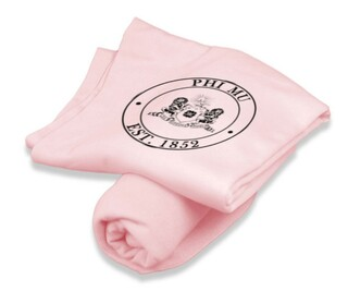 Phi Mu Sweatshirt Blankets