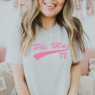 Phi Mu Tail T-Shirts
