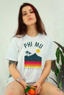 Phi Mu Tropical Tee - Comfort Colors