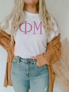 Phi Mu University Greek T-Shirts