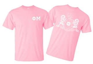 Phi Mu World Famous Greek Crest T-Shirts - $16.95!- MADE FAST!