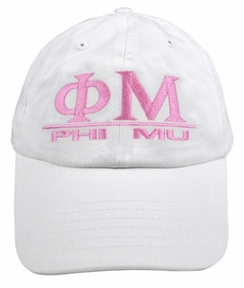 Phi Mu World Famous Line Hat - MADE FAST!