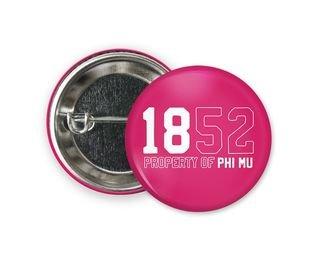 Phi Mu Year Button