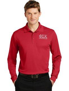 Phi Sigma Kappa- $30 World Famous Long Sleeve Dry Fit Polo