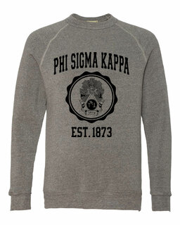 Phi Sigma Kappa Alternative - Eco-Fleece� Champ Crewneck Sweatshirt
