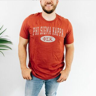 Phi Sigma Kappa arch tee
