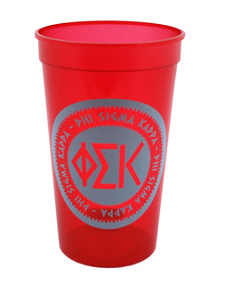 Set of 10 - Phi Sigma Kappa Big Ancient Greek Letter Stadium Cup - Clearance!!!
