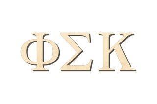 Phi Sigma Kappa Big Wooden Greek Letters