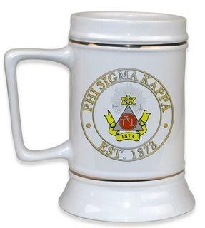 Phi Sigma Kappa Ceramic Stein