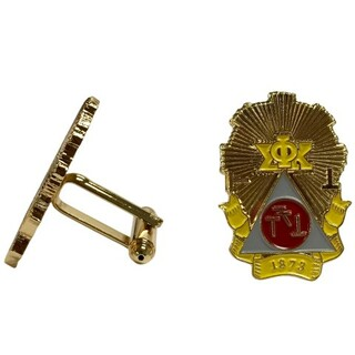 Phi Sigma Kappa Color Crest - Shield Cuff links-ON SALE!