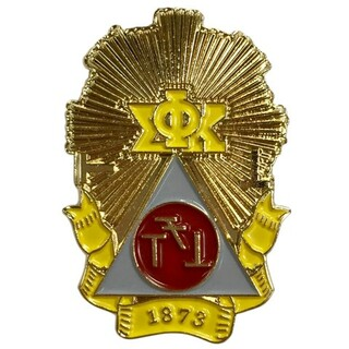 Phi Sigma Kappa Color Crest - Shield Pins