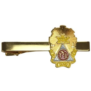 Phi Sigma Kappa Color Crest - Shield Tie Clips