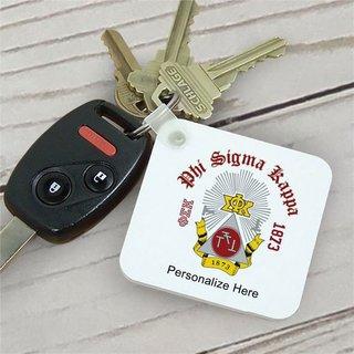 Phi Sigma Kappa Color Keychains