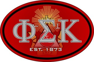 Phi Sigma Kappa Color Oval Decal