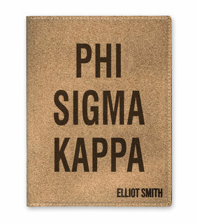 Phi Sigma Kappa Cork Portfolio with Notepad