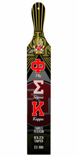 Phi Sigma Kappa Custom Full Color Paddle