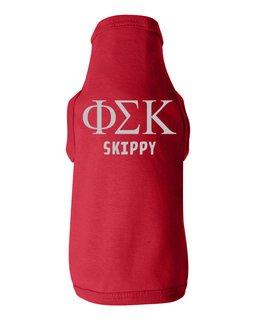 Phi Sigma Kappa Doggie Tank - Tee