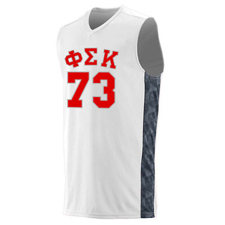 Phi Sigma Kappa Fast Break Game Basketball Jersey