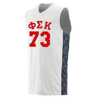 Phi Sigma Kappa Fast Break Game Basketball Jersey
